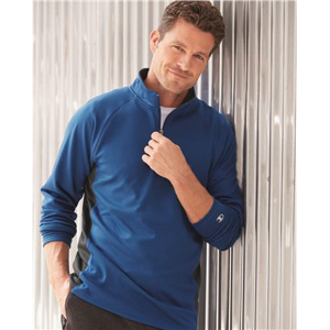 Champion Colorblocked Performance Quarter-Zip Sweatshirt
